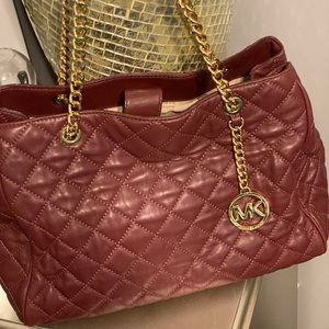 NWT Michael Kors purse Merlot